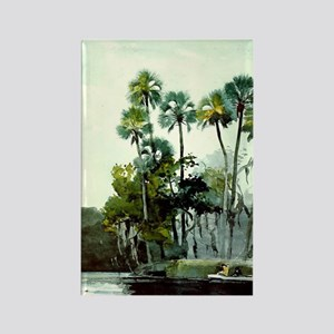 Winslow Homer - Homosassa River Rectangle Magnet