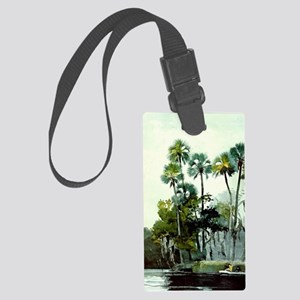 Winslow Homer - Homosassa River Large Luggage Tag