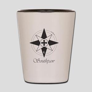 Southpaw Compass Shot Glass