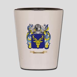 MacKenzie Coat of Arms - Family Crest Shot Glass