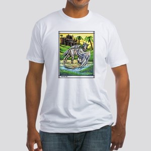 Tiger Griffen Fantasy Fitted T-Shirt