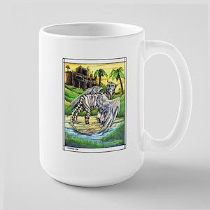 Tiger Griffen Fantasy Large Mug