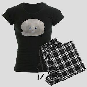 Chat Gris Women's Dark Pajamas