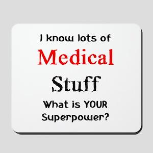 medical stuff Mousepad