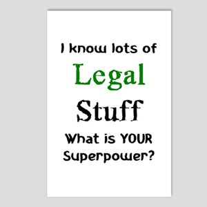 legal stuff Postcards (Package of 8)