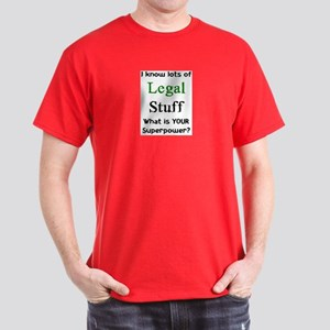 legal stuff Dark T-Shirt