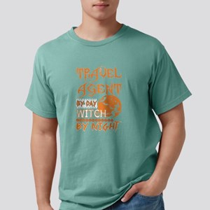 Travel Agent By Day Witch By Night Hallowe T-Shirt