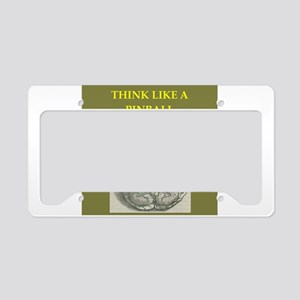 pinball License Plate Holder