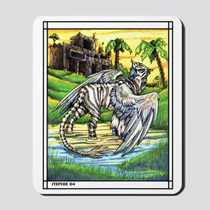 Tiger Griffen Fantasy Mousepad