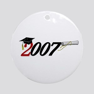 '007 UNIQUE Original Design Ornament (Round)