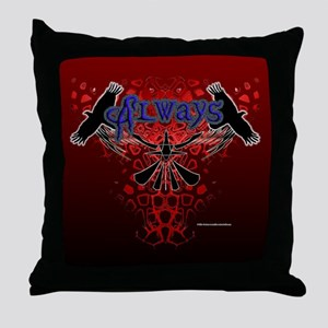 Crowz Throw Pillow