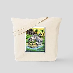 Tiger Griffen Fantasy Tote Bag