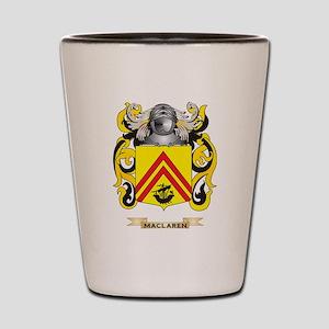 MacLaren Coat of Arms - Family Crest Shot Glass