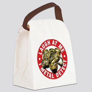 I Metal Detect Canvas Lunch Bag