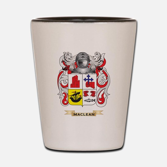 MacLean Coat of Arms - Family Crest Shot Glass