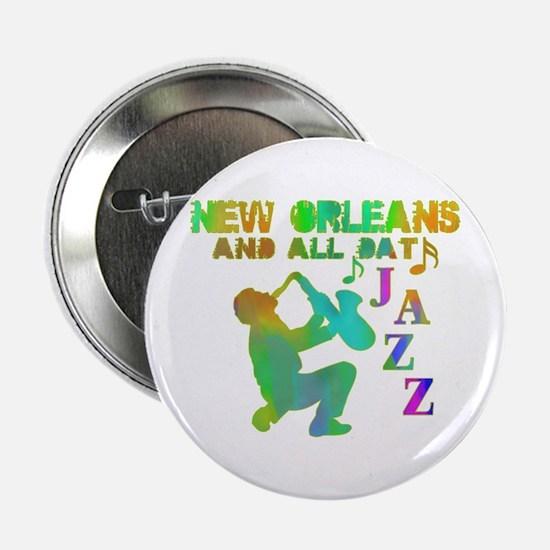 New Orleans Jazz (4) Button