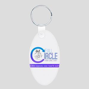 Full Circle Farm Sanctuary Logo Keychains