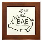 BAE Framed Tile
