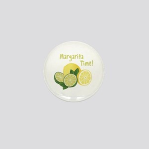 Margarita Time Mini Button