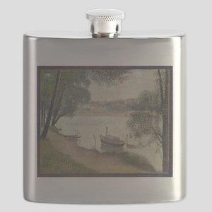 Gray weather Grande Jatte Flask