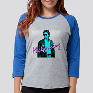 Macgyver: Business In The Front Long Sleeve T-Shir