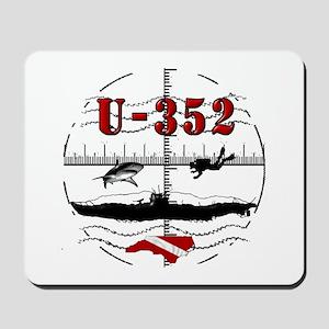 U-352 Dive Mousepad