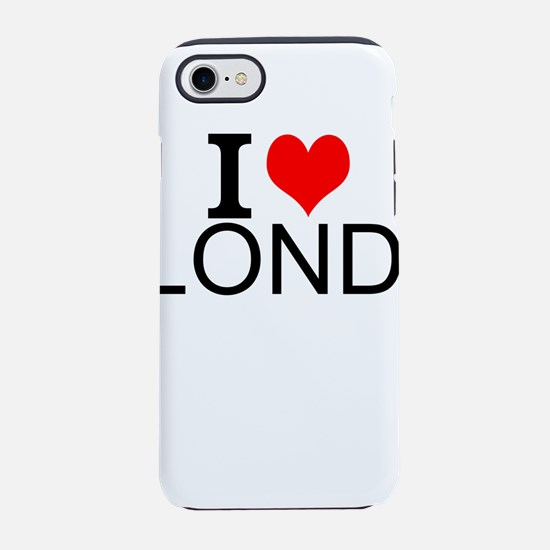 I Love London iPhone 7 Tough Case