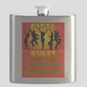 PARTY RULES Flask