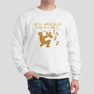 New Orleans Jazz (1) Sweatshirt