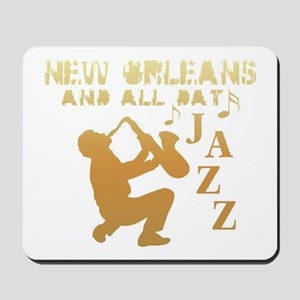 New Orleans Jazz (1) Mousepad