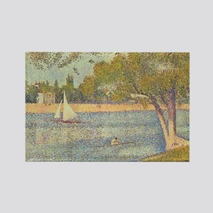 The Seine and la Grande Jatte Magnets