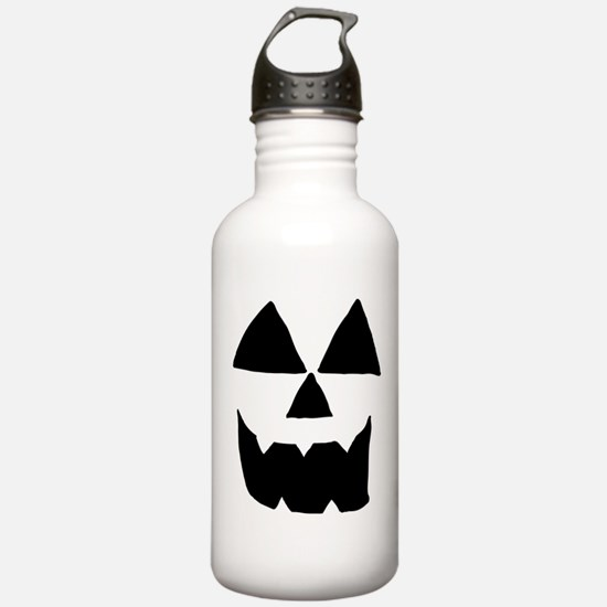 Sep 11 Jackolantern Face 1 Water Bottle