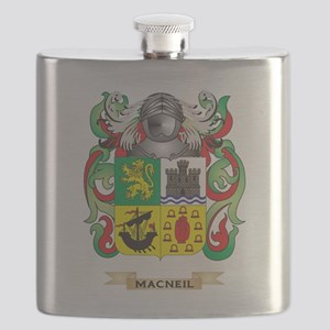 MacNeil Coat of Arms - Family Crest Flask