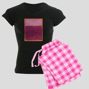 ROTHKO PINK RASBERRY AND ORANGE Pajamas
