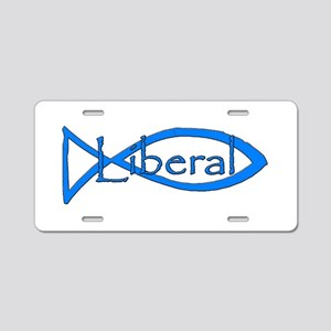 Liberal Christian Aluminum License Plate