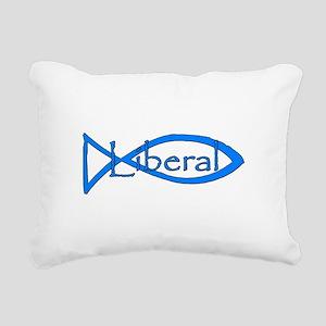 Liberal Christian Rectangular Canvas Pillow