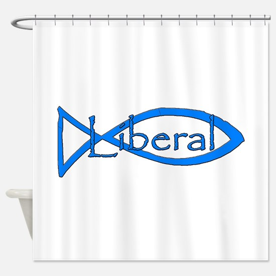 Liberal Christian Shower Curtain