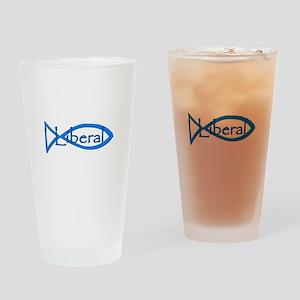 Liberal Christian Drinking Glass