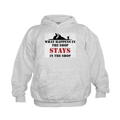 What Happens In The Shop Hoodie