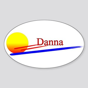 Danna Oval Sticker