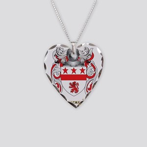 MacRae Coat of Arms - Family  Necklace Heart Charm