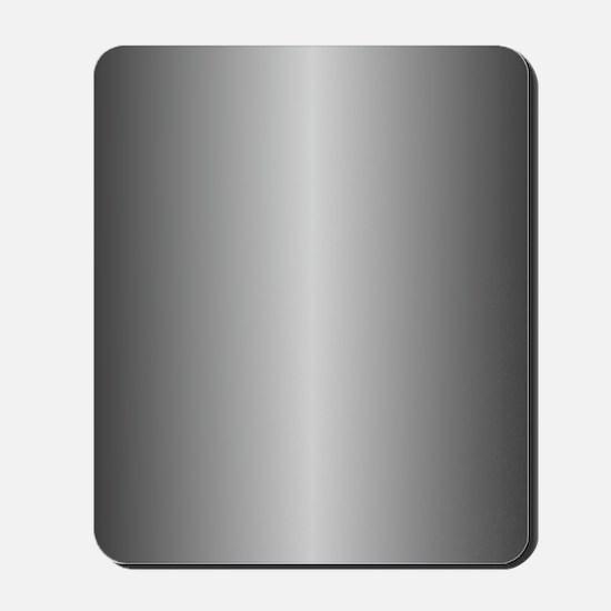 Grey Metallic Shiny Mousepad