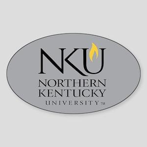 NKU Northern Kentucky University Sticker (Oval)