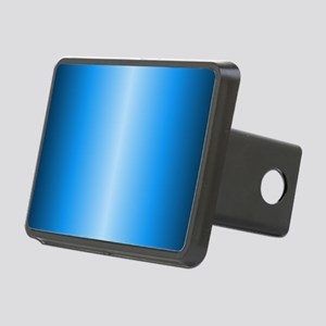 Blue Metallic Shiny Rectangular Hitch Cover
