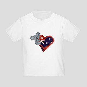 Love Australia - Koala Heart T-Shirt