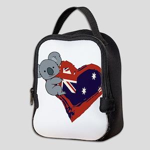 Love Australia - Koala Heart Neoprene Lunch Bag