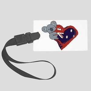 Love Australia - Koala Heart Luggage Tag