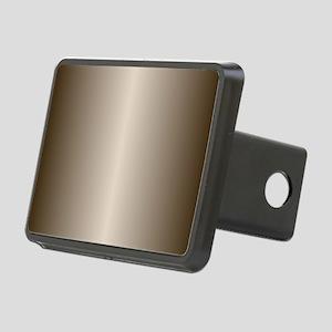 Bronze Metallic Shiny Rectangular Hitch Cover