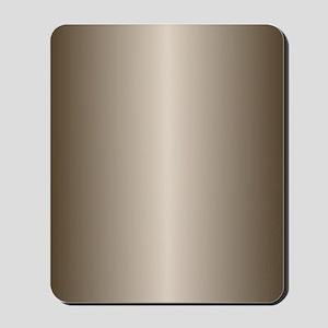 Bronze Metallic Shiny Mousepad