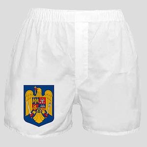 Romanian Coat of Arms Boxer Shorts